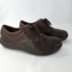 BOC Born Oxford Shoes Brown Leather 9.5 Lace Up